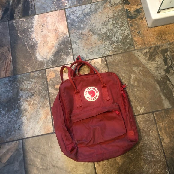 Fjällräven Kånken Red Backpack